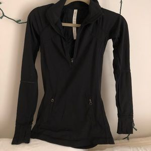 Lululemon black zip up jacket pullover
